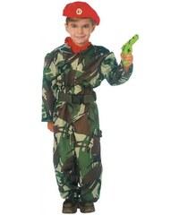 Dětský kostým Voják Pro věk (roků) 3-4