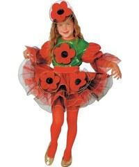 Dětský kostým Maková panenka Pro věk (roků) 1-2