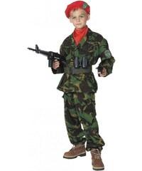 Dětský kostým Voják Pro věk (roků) 10-12