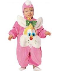 Dětský kostým Zajíček růžový Pro věk (roků) 0-6m