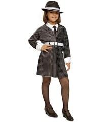 Dětský kostým Gangsterka Pro věk (roků) 10-12