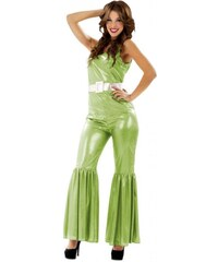 Kostým Disco zelená Velikost M/L 42-44