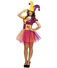 Kostým Lady Joker Velikost M/L 42-44