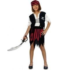 Dětský kostým Pirátka Pro věk (roků) 3-4
