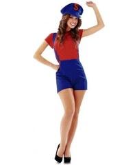 Kostým Super Lady červená Velikost M/L 42-44