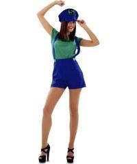 Kostým Super Lady zelená Velikost M/L 42-44