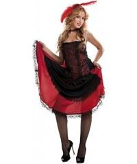 Kostým Saloon girl Velikost M/L 42-44