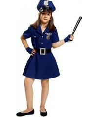 Dětský kostým Policistka Pro věk (roků) 10-12
