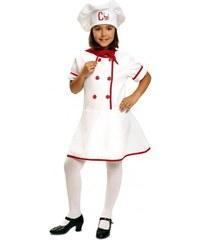 Dětský kostým Kuchařka Pro věk (roků) 10-12