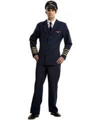 Kostým Pilot Velikost S 44-46