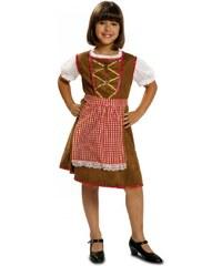 Dětský kostým Tyrolská dívka Pro věk (roků) 10-12