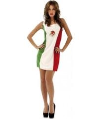 Kostým Mexická vlajka Velikost M/L 42-44