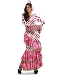 Kostým Tanečnice flamenga červená Velikost M/L 42-44