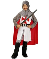 Dětský kostým Středověký rytíř s pláštěm Pro věk (roků) 10-12