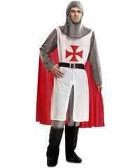 Kostým Středověký rytíř s pláštěm Velikost S 44-46