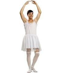 Kostým Baleťák bílý Velikost M/L 50-52