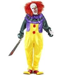 Kostým Hororový klaun halloween Velikost L 52-54
