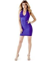 Guess Šaty Sleeveless Deep-Halter Bandage Dress