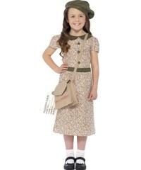 Dětský kostým Evakuovaná dívka Pro věk (roků) 10-12
