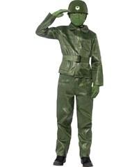 Dětský kostým Voják figurka Pro věk (roků) 4-6