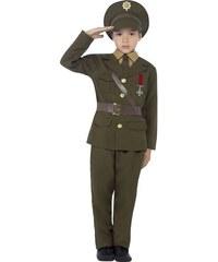 Dětský kostým Vojenský oficír Pro věk (roků) 10-12