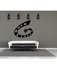 Nalepovací nástěnné hodiny - Swirl - 10A080
