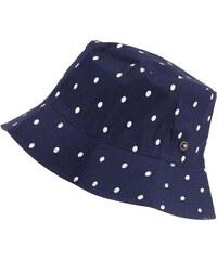Modrý puntíkovaný klobouk do deště Tom Joule Rainy Day