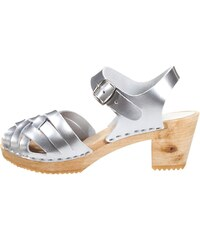Moheda Toffeln BETTY Clogs silver