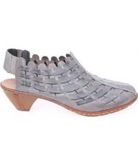 Rieker dámské sandály 46778-40 šedé
