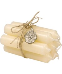 IB LAURSEN Svíčka Cream - set 6 ks