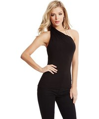 Guess by Marciano Halenka Laime One-Shoulder Top