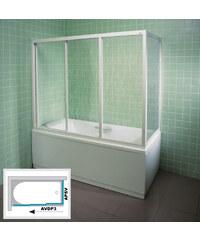 Ravak APSV-70 RAIN Pevná stěna vanová 70 cm bílá