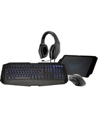 GIGABYTE Set aus Maus, Tastatur, Headset, Mauspad »Gaming Upgrade Kit«