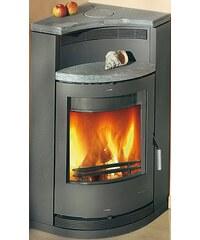 Kaminofen »Lyon«, Stahl, 8 kW, für die Ecke, Fireplace