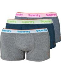 Superdry ORANGE LABEL SPORT 3 PACK Panties blau/grau