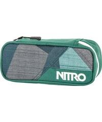 penál NITRO - Pencil Case Fragments Green (028)