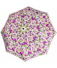 Doppler Dámský holový vystřelovací deštník Lavender Holzstock AC 73665L03