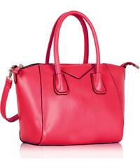 L&S Fashion (Anglie) Kabelka LS0082 růžová