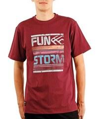 Pánské tričko Funstorm Leinn claret L