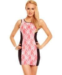 Dámské mini šaty SKINWEAR - růžové