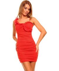 Dámské společenské šaty Zn. MUSE - červené