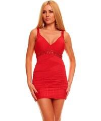 Dámské šaty Ethina - červené
