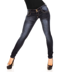Dámské stylové džíny Just F - modré