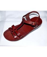 Kožené sandály 062 Hunei