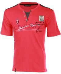 TopMode Pánské tričko s potiskem červená