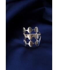 Stříbrný prsten PS021