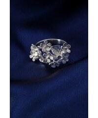 Stříbrný prsten PS054