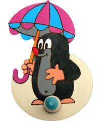 DoDo 1 věšák Krtek s deštníkem VLB12 12x18cm