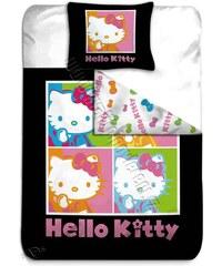BLGS Povlečení Hello Kitty Pop Art bavlna 140/200, 65/65 cm
