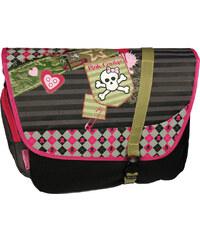 SunCe Velká taška přes rameno- Pink Cookie S-9812-COP 31x39x13 cm